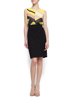 MANGO - CLOTHING - Tear drop neckline dress