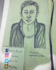 Ryan Kelley's portrait #teenwolf #ryankelley #drawing #actor #portrait