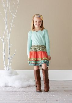Twirling Tulle Skirt (R4-Holiday)