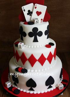 Card cake from my sugar creations casino party, casino night, fète casino, casino Fète Casino, Casino Cakes, Casino Royale, Las Vegas Cake, Las Vegas Party, Casino Party Decorations, Casino Theme Parties, Casino Night Party, Themed Parties