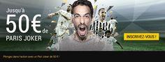 Bonus de 50€ à débloquer chez Bwin.   > http://wallabet.fr/bookmakers/bwin/bonus-bwin/