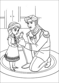 Frozen Ausmalbilder. Malvorlagen Zeichnung druckbare nº 17