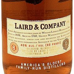 """Colts Neck (Monmouth County) - America's first commercial distillery was established in 1780. To this day they produce Applejack, also known as """"Jersey Lightning."""""""