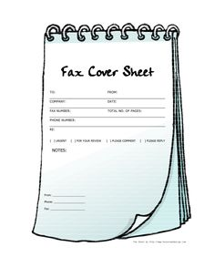 Use this printable fax cover sheet for your most urgent, express ...