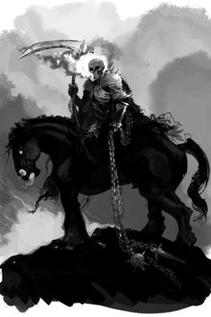 Medieval Ghost Rider