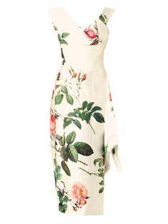 Prestige floral-print silk satin dress   Vivienne Westwood Gol...