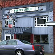 "Snappy Lunch, Mt Airy NC ""Mayberry"""