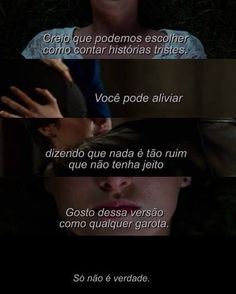 A culpa é das estrelas My Fantasy World, Im Sad, The Fault In Our Stars, John Green, Sad Girl, Some Quotes, Writing Prompts, Deep Thoughts, Quotations