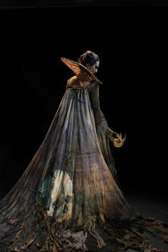 Costume by Katie Garden, Wimbledon Costume Design student.