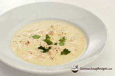 Recipe For Cream of Chicken and Potato Soup - A wonderfully rich and flavorful soup that combines the richness of cream with chicken meat, potatoes, onions, chives and spices!