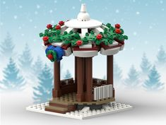 This custom LEGO MOC will be the perfect addition to your LEGO Winter Village Display. It is 192 parts and the estimated cost to buy the parts is around $35-37 USD. Those who purchase the instructions will receive a 12-page professionally designed PDF instruction book, PDF parts list with color picture of each part needed AND the Stud.io file for easy uploading to Bricklink to easily order parts. Available here: rebrickable.com/mocs/MOC-17052/charlesp1138/winter-villag...