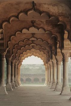 the Arches Arches inside the Red Fort in Agra, India. Image scanned from print taken in November inside the Red Fort in Agra, India. Image scanned from print taken in November Art Et Architecture, Islamic Architecture, Amazing Architecture, Architecture Details, Beautiful World, Beautiful Places, Amazing Places, Beautiful Pictures, Taj Mahal