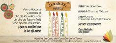Celebración del día de las velitas en Hacuna!! Lectura de Tarot y Reiki con aporte voluntario