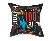 Mr Price has it's moments.   My dorm room just wouldn't be the same without my I <3 RSA cushion to remind me of my roots.