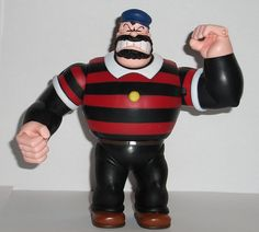 Mezco's Popeye: Bluto Action Figure Review | Infinite Hollywood