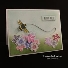 Stampin' Up! Dragonfly Dreams Bee Slider Card
