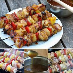 Bacon-pineapple-chicken-kebabs