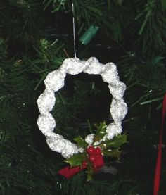 Macrame ornaments 1