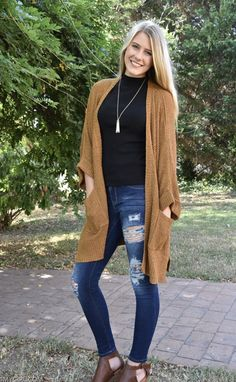 We are loving this cozy cardigan for the fall season! Girls Boutique, This Or That Questions, Sweaters, Collection, Fashion, Moda, Pullover, Sweater