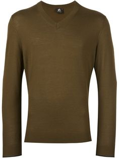 PS BY PAUL SMITH v neck fine knit jumper. #psbypaulsmith #cloth #jumper
