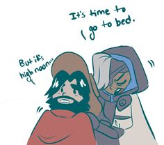 When you sleep McCree during his ult