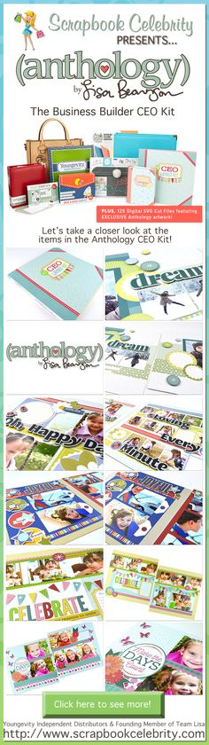 Build your new scrapbooking business with Scrapbook Celebrity & Team Lisa!