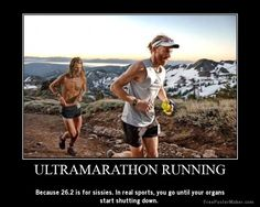 "This pic was titled ""my first ultra marathon"" man if I ever run 100 miles strait through it will be a one time deal. All I have to do to prepare for my first marathon is think of these guys, and I'm ready! Running Humor, Running Motivation, Running Workouts, Running Tips, Trail Running, Fell Running, Ultra Running Quotes, Ultra Marathon Training, Ultra Trail"
