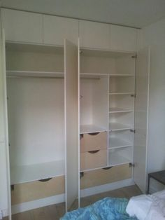 Slaapkamer on Pinterest  Met, Van and Wardrobes