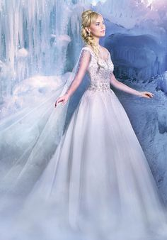 The 2016 Alfred Angelo Disney Fairy Tale Wedding Gowns - Elsa