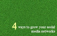 4 easy ways: How to grow your social media networks - Fat Mum Slim