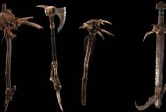 The Hobbit: An Unexpected Journey - Goblin Weapons Weta Workshop