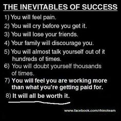 Inevitables of Success