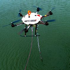 Drones to take Water Samples: New Era of Hands-on Aerial Robots