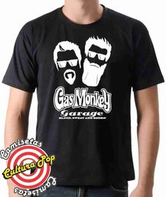 Camiseta Estampada Gas Monkey Garage Dupla do Barulho.