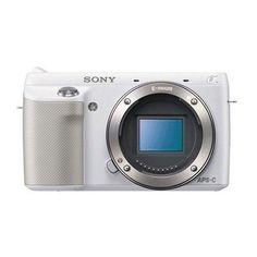 Sony NEX-F3/W 16.1 MP Compact System Camera Body Only (White)