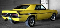 We don't always re-pin Camaros, but when we do, they are 1969 Yenko Camaros