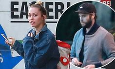 And already Miley Cyrus has already had a moving truck parked outside Liam Hemsworth's house. U Haul Truck, Miley And Liam, Liam Hemsworth, Miley Cyrus, Mail Online, Daily Mail, Trucks, Truck, Cars
