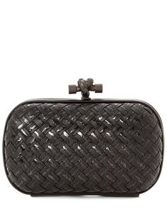Bottega Veneta Metal Intrecciato Placcato Knot Clutch is on Rue. Shop it now.
