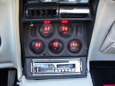 76 corvette | 1976 Corvette Stringray Instrument Panel