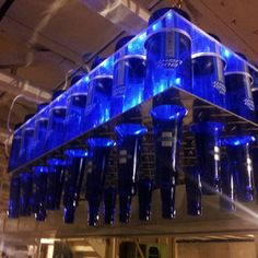 DIY - Beer Bottle Chandelier