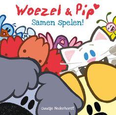 Samen spelen! Woezel en Pip spelen elke dag met hun vriendjes Buurpoes, Molletje en de Zingende Tulpjes. Ze doen tikkertje en verstoppertje, geven een circusvoorstelling en gaan naar het partijtje van Buurpoes.  Samen spelen is het allerleukst!