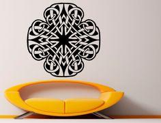 Celtic Knot Wall Decal Celtic Wall Vinyl Decal Interior Home Decor Vinyl Art Wall Murals (12cel2t)