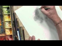Watercolor Effects with Pencil