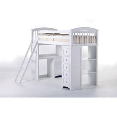 $1100 School House Student Loft Bed | Wayfair