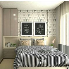 Modern Style Bedroom Design Ideas and Pictures. You're a fan of the modern designs and want to redecorate your bedroom to welcome New Year, let's see modern bedroom ideas. Dream Bedroom, Home Decor Bedroom, Bedroom Furniture, Furniture Plans, Kids Furniture, Modern Bedroom, Bedroom Ideas, New Room, Room Inspiration