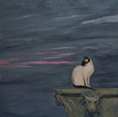 Cat Art Print, Siamese Cats, Figurative Art, Fine Art Paper, Saatchi Art, Art Prints, Canvas, Gallery, Painting
