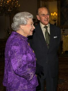 Queen Elizabeth II and the Duke of Edinburgh host a Reception for Contemporary British Poetry at Buckingham Palace, London, 19.11.13
