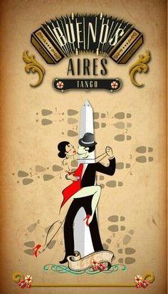 I must return to Buenos Aires and the Argentine Tango. Tango Art, Tango Dance, Mendoza, Pub Vintage, Inspiration Art, Argentine Tango, Art Deco Posters, Argentina Travel, Montevideo