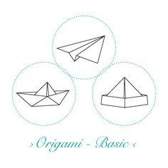 Korkstempel ›Origami – Basic‹ - S.W.W.S.W.