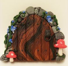 Khiri's Fairy Door by FlyingFrogCreations.deviantart.com on @deviantART